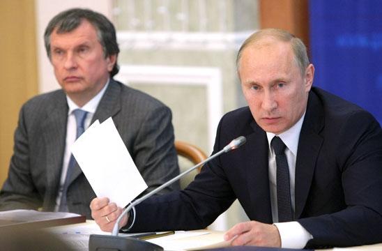 Путин и нефтяники